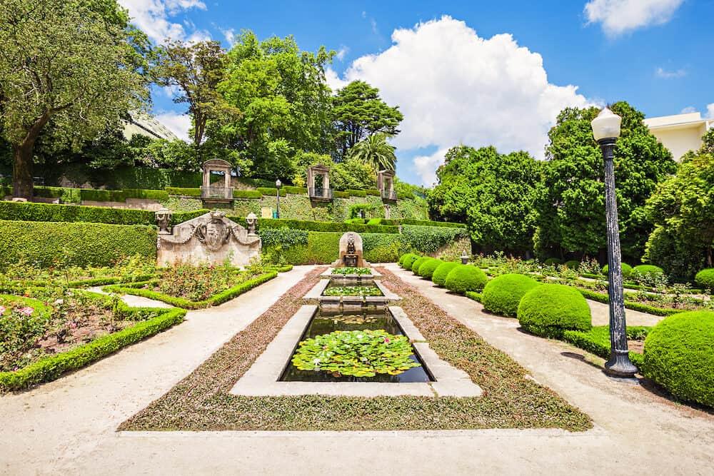 Jardins do Palacio de Cristal Porto Portugal