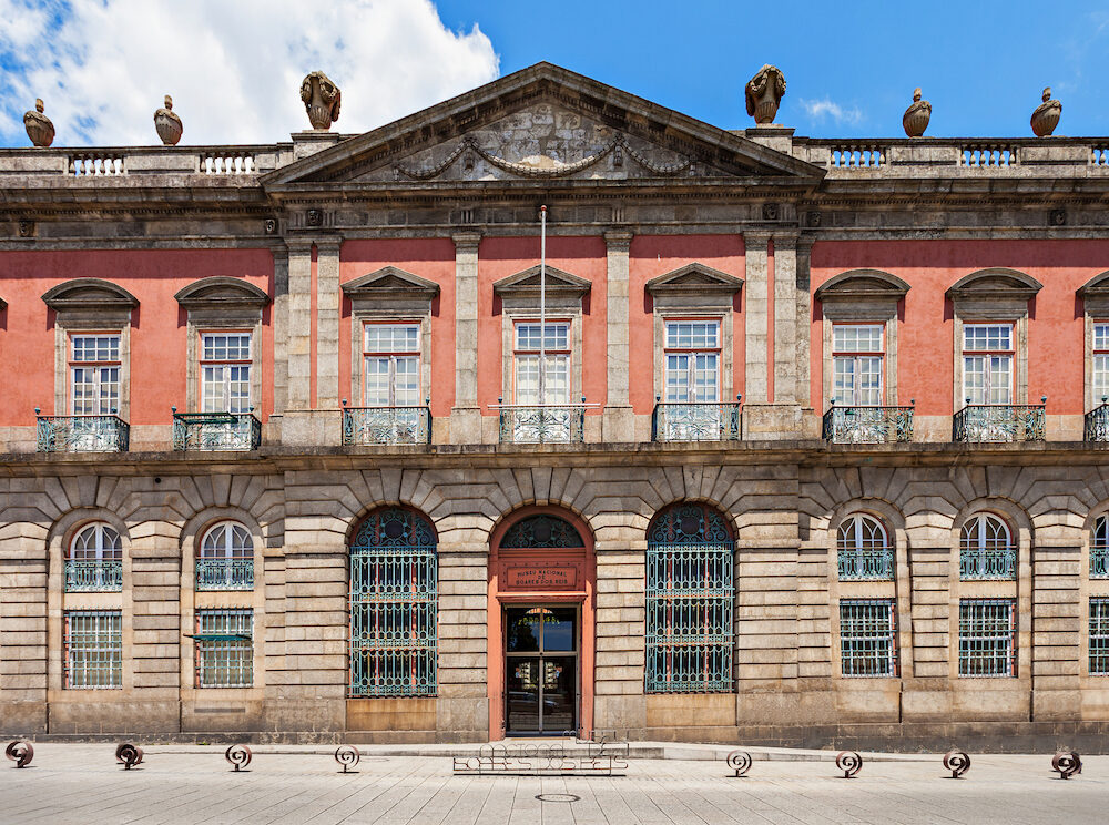 National Museum Soares dos Reis located in the ancient Carrancas Palace in Porto Portugal