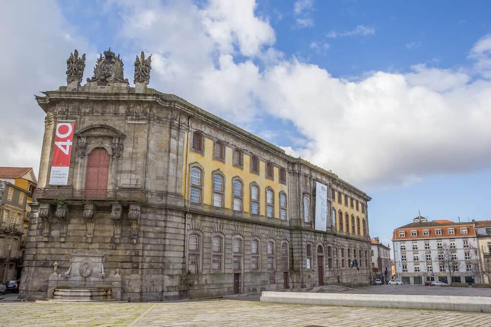 PORTO, PORTUGAL - Portuguese Center of Photography in a former prison building in Porto, Portugal