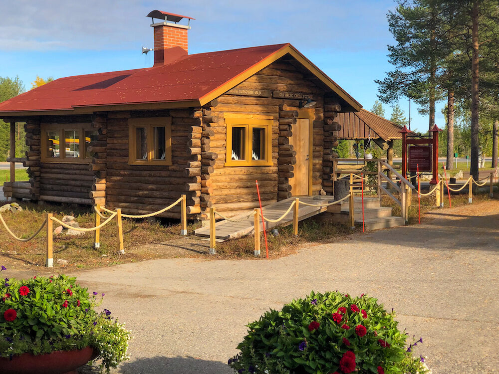 Roosevelt Cabin at Santas Village in Rovaniemi