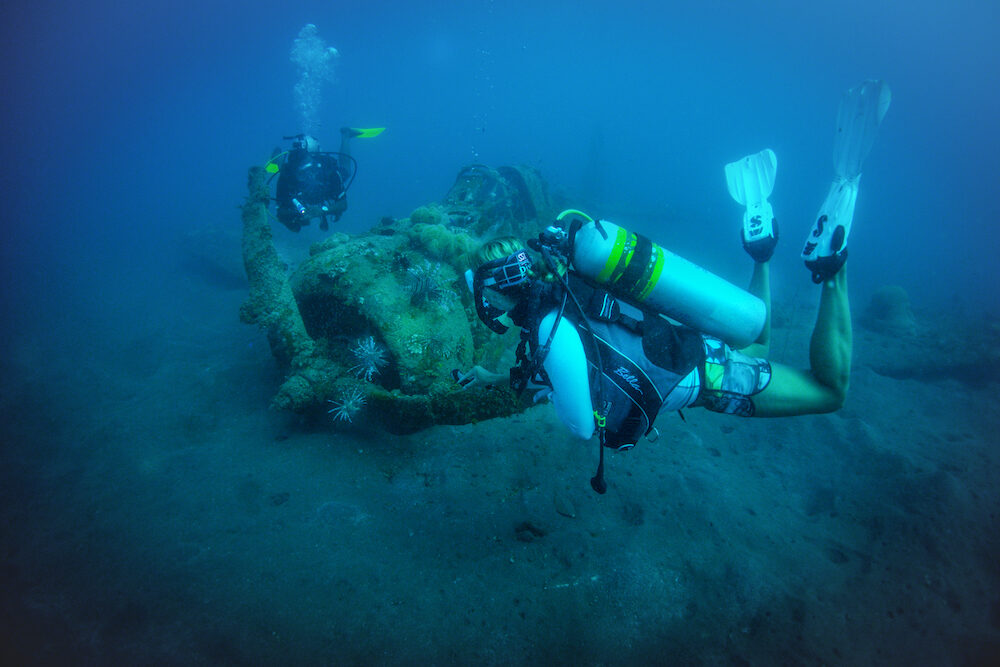 Second World War wreck