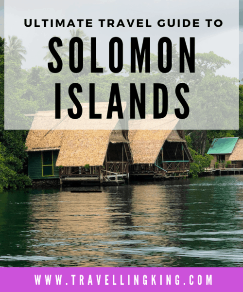 Ultimate Travel Guide to Solomon islands