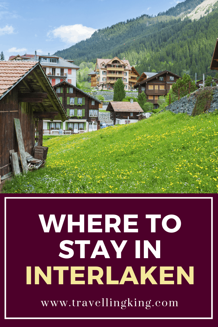 Where to stay in Interlaken