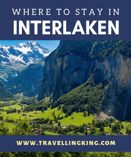 Where to stay in Interlaken