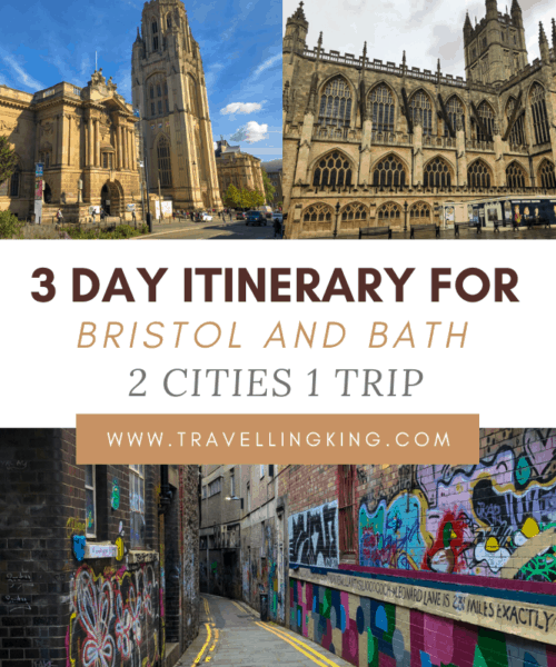 3 Day Itinerary for Bristol and Bath - 2 Cities 1 Trip