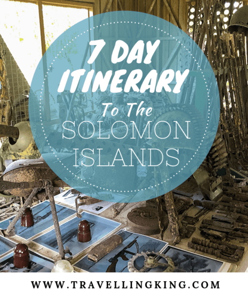 7 Day Itinerary to the Solomon Islands