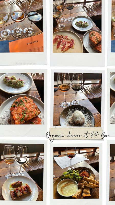 Bar 44 that serves signature tapas dishes