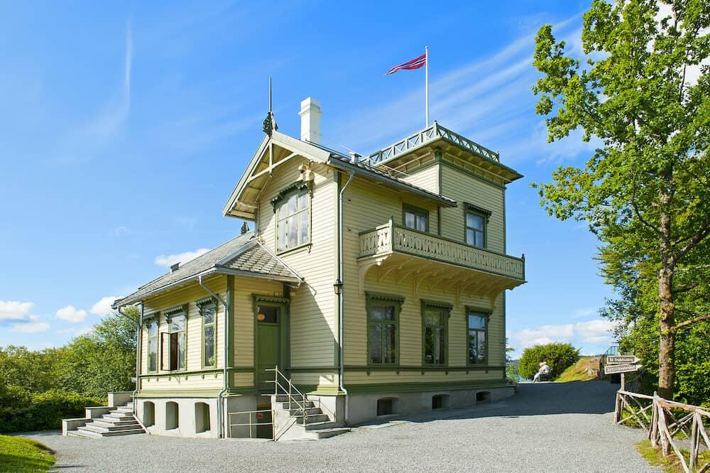 BERGEN, NORWAY - Edvard Grieg`s Troldhaugen House in Bergen