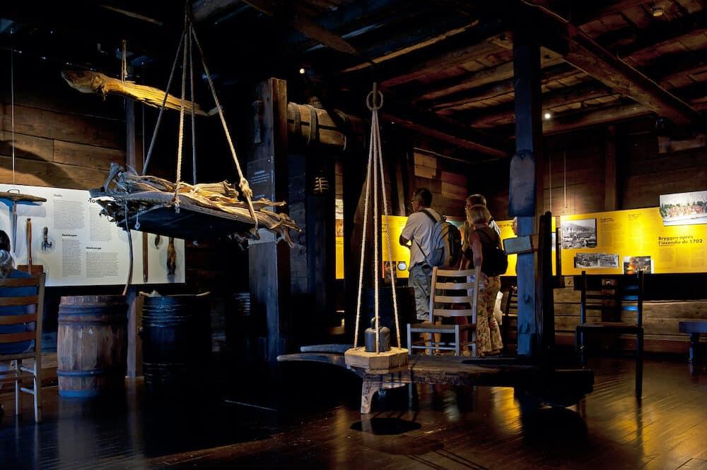 BERGEN, NORWAY - Hanseatic Museum in Bergen, Norway