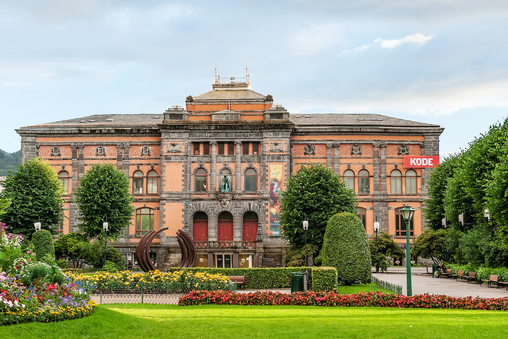 Bergen, Norway- : Museum of applied arts of Western Norway, Bergen. Sightseeing In Bergen.