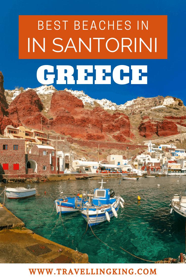 Best Beaches in Santorini Greece
