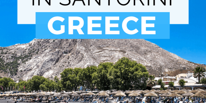 Best Beaches in Santorini Greece
