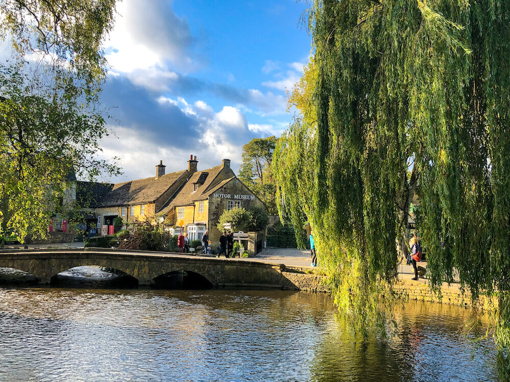 Bourton-on-the-Water, often called 'Venice of the Cotswolds'