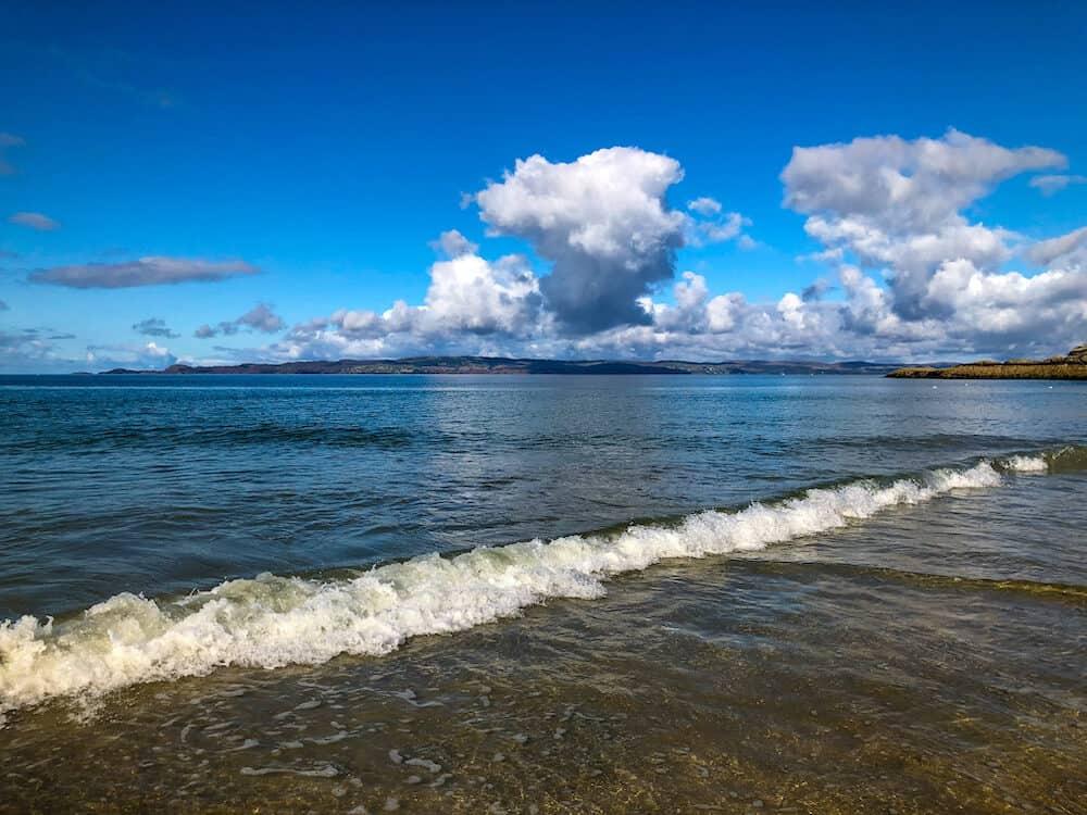Camusdarach beach in Scotland