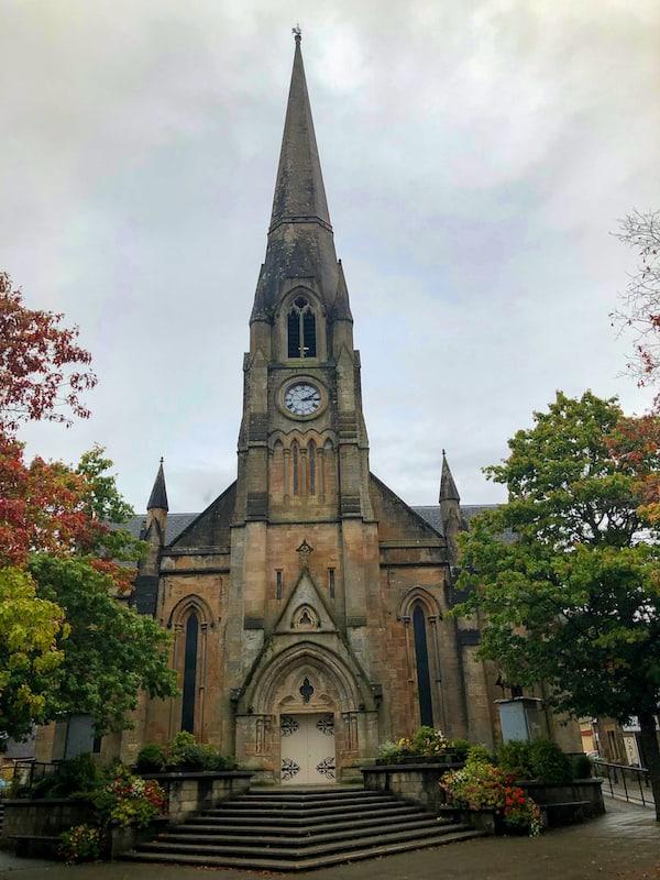 Cathedral in Callander Scotland