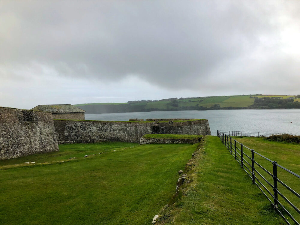 Charles Fort in Kinsale Ireland