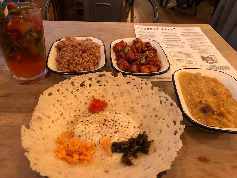 Coconut Tree - Sri Lankan cuisine