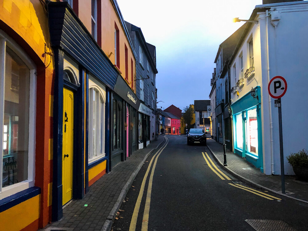 Colourful Streets of Kinsale in Ireland