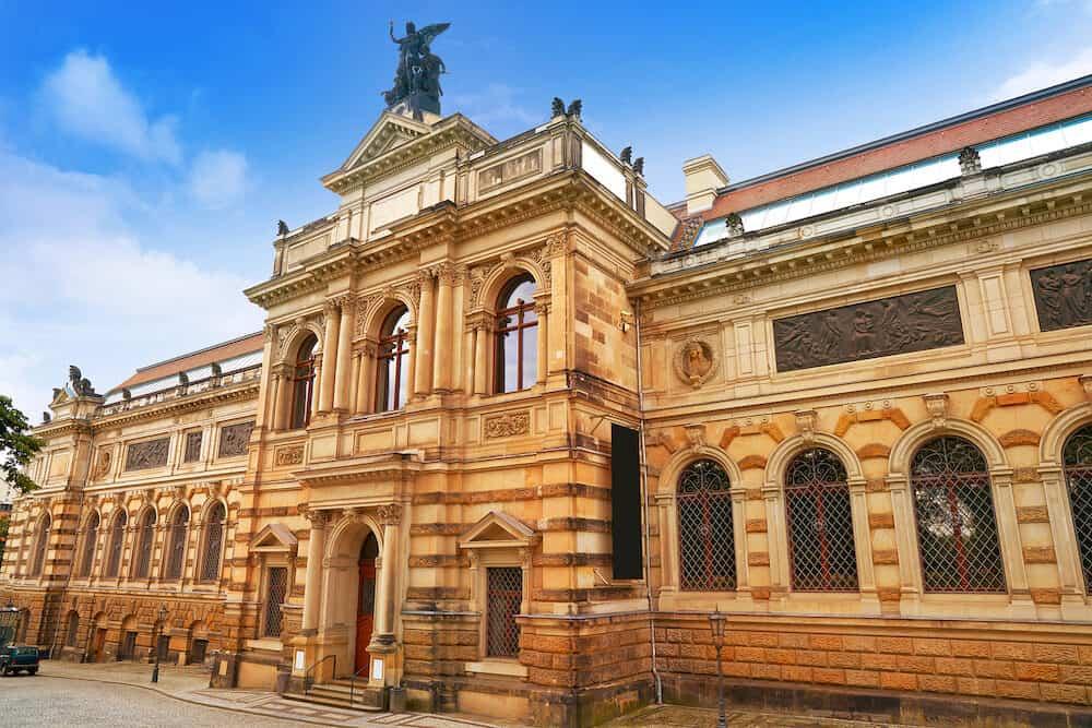 Albertinum museum in Dresden Saxony of Germany