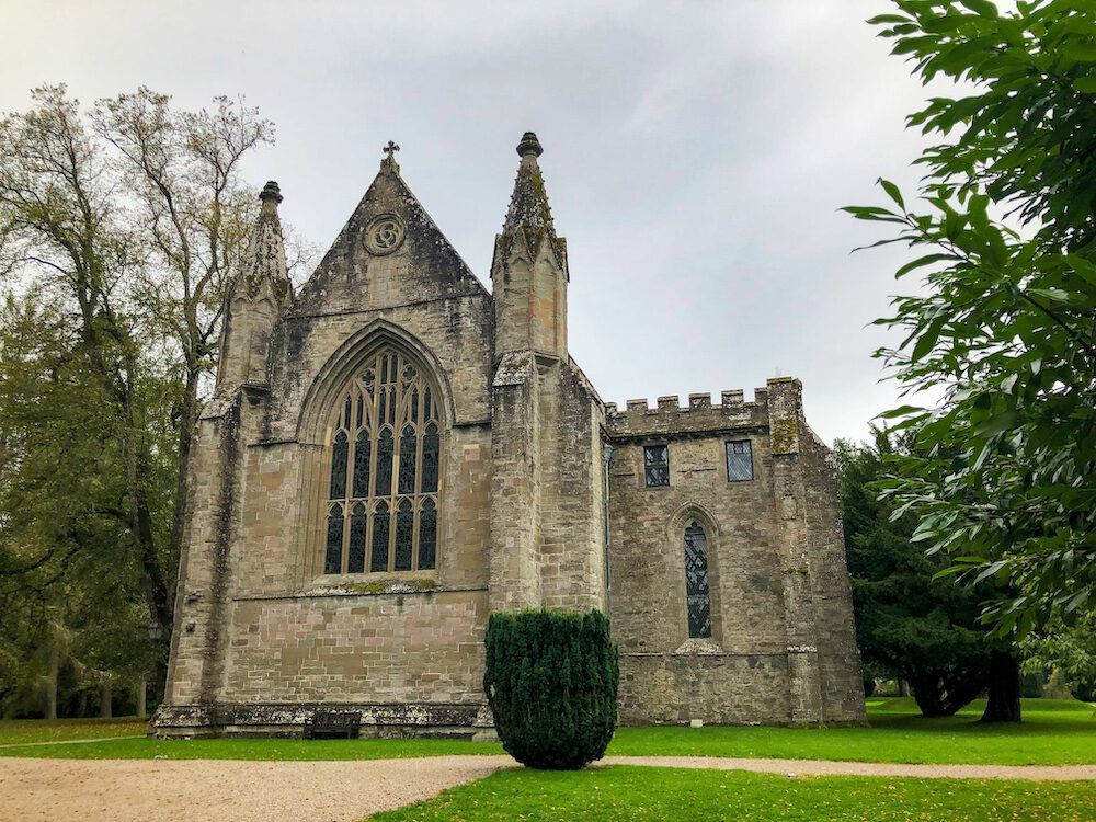 Dunkeld Cathederal in Scoland