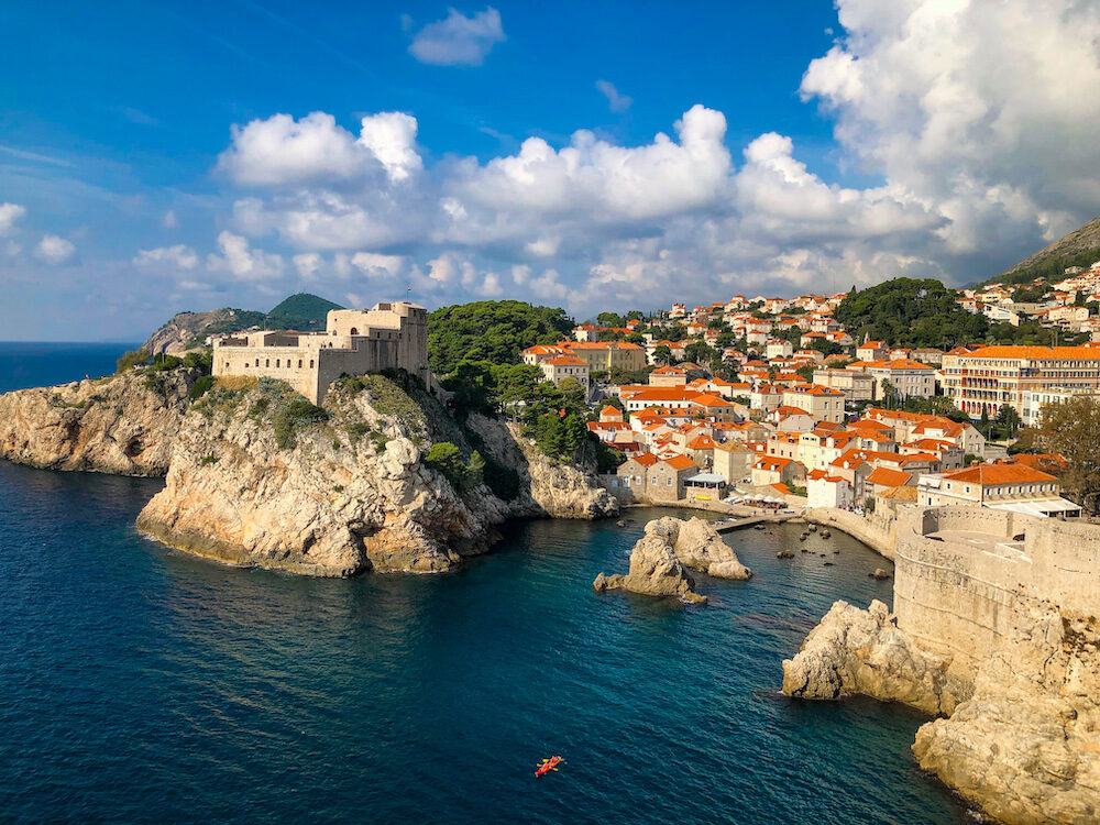 Fort Lovrijenac in Dubrovnik Croatia - Used in Game of Thrones as Kings Landing