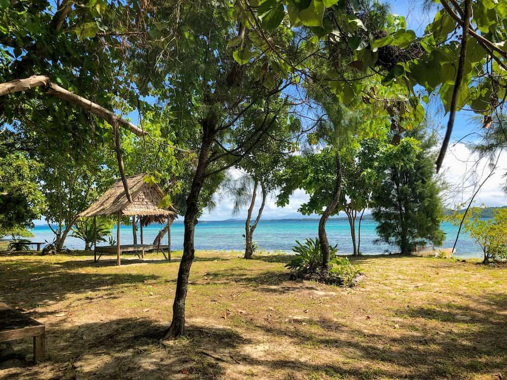 Hopei Island near Munda in the Solomon Islands
