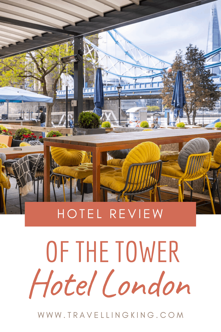 Hotel review of the Tower Hotel London