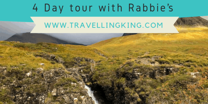 Isle of Skye & West Highlands - 4 Day tour with Rabbie's