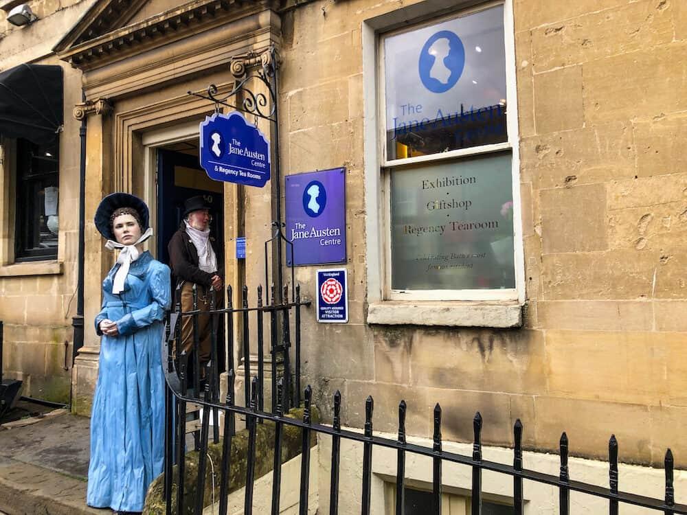 Jane Austen Centre in Bath UK