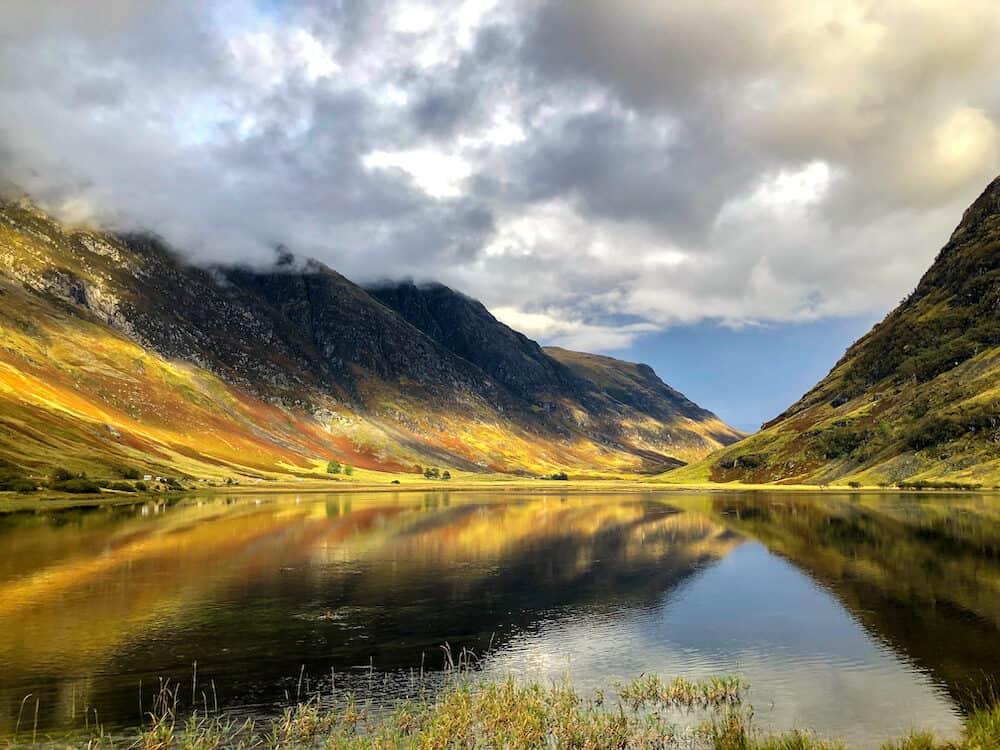 Loch Achtriochtan in Scotland
