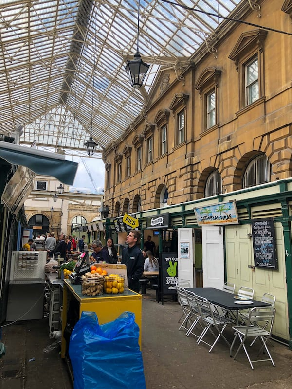 Lunch stops at St Nicholas market