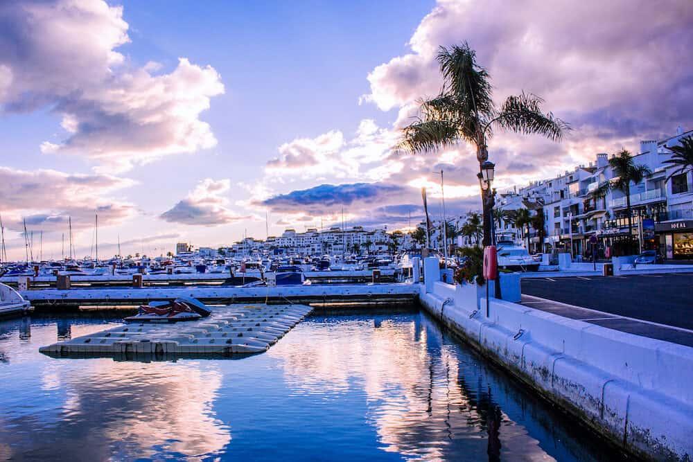 Port of Puerto Banus. Puerto Banus, Marbella, Costa del Sol, Andalusia, Spain.