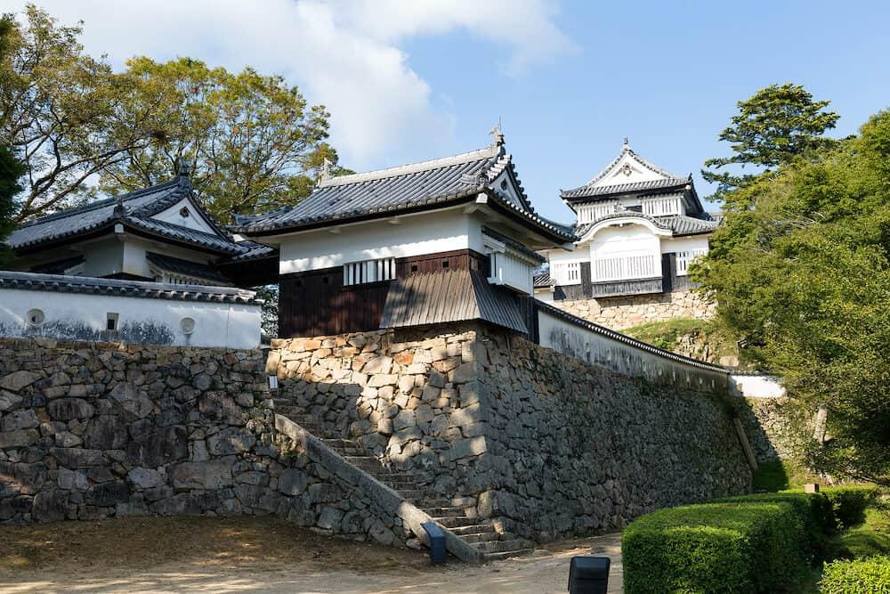 Bitchu Matsuyama Castle in Takahashi