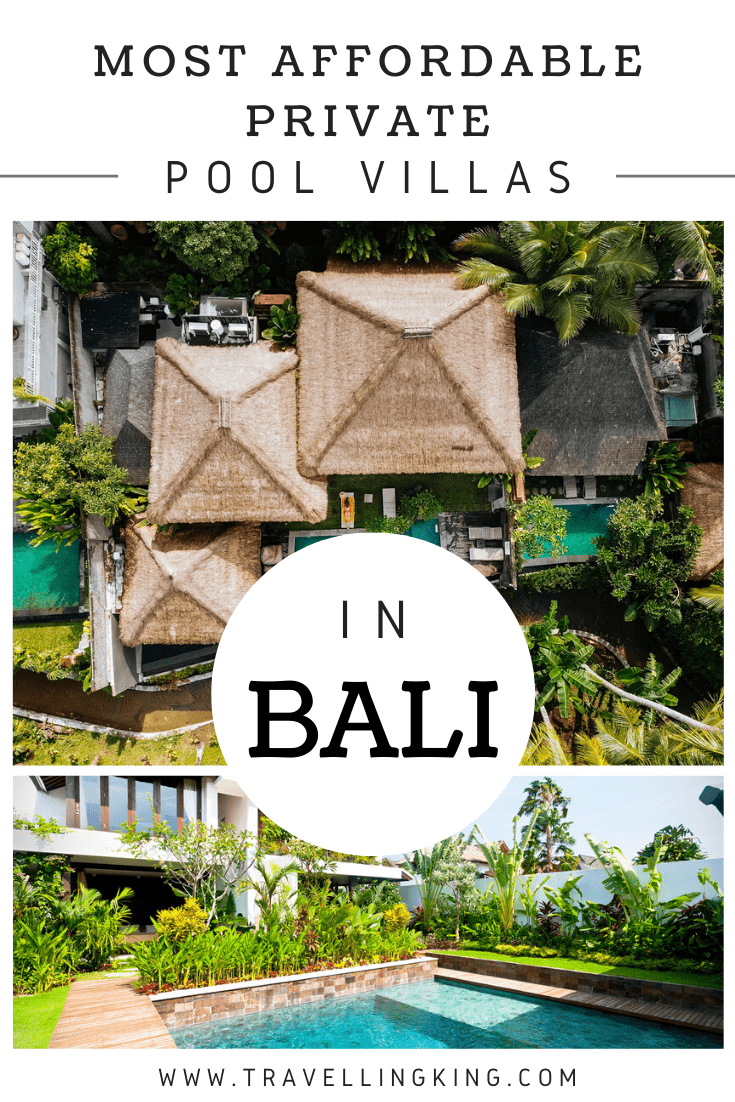Most Affordable Private Pool Villas In Bali