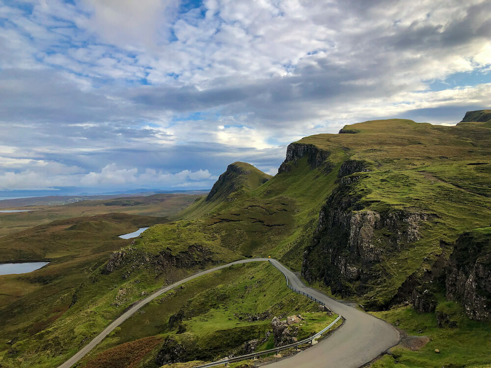 Right of The Quiraing on the Isle of Skye