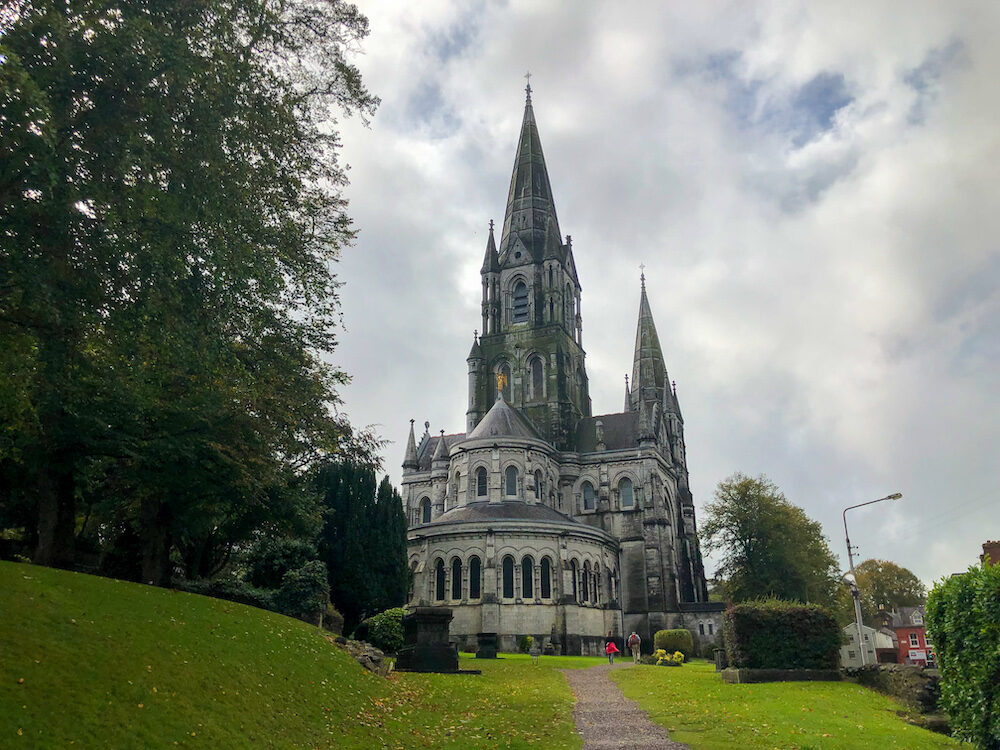 Saint Fin Barre's Cathedral in Cork Dublin
