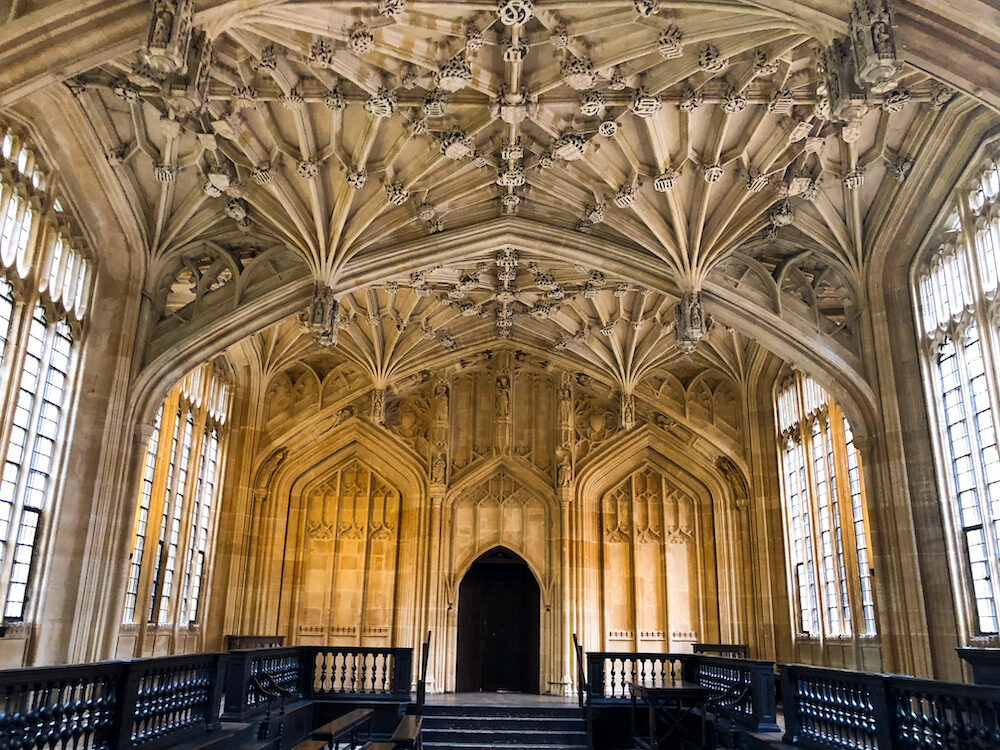 The Divinity School (the oldest teaching and examination room of the University)