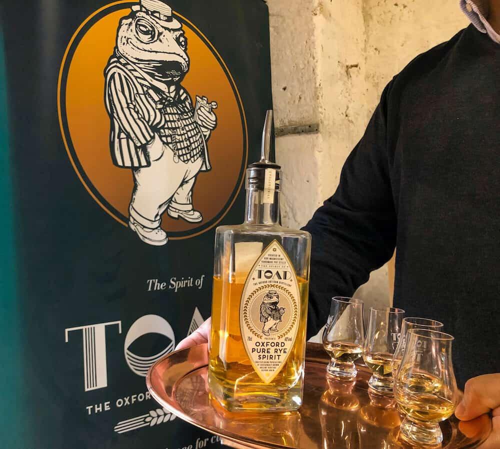 The Oxford Artisan Distillery Tour