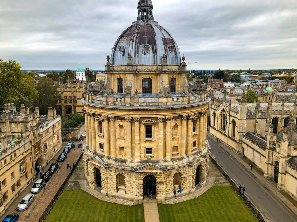"""The Radcliffe Camera or simply """"The Camera"""" is one of the most distinct buildings of Oxford University"""