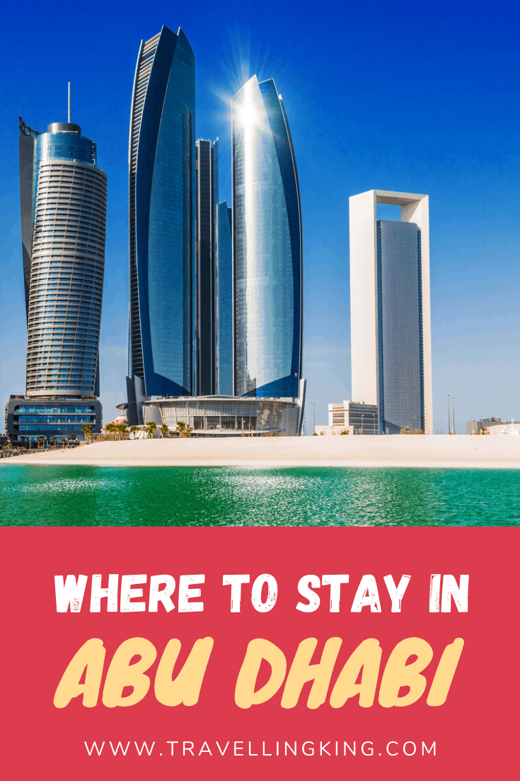 Where to stay in Abu Dhabi
