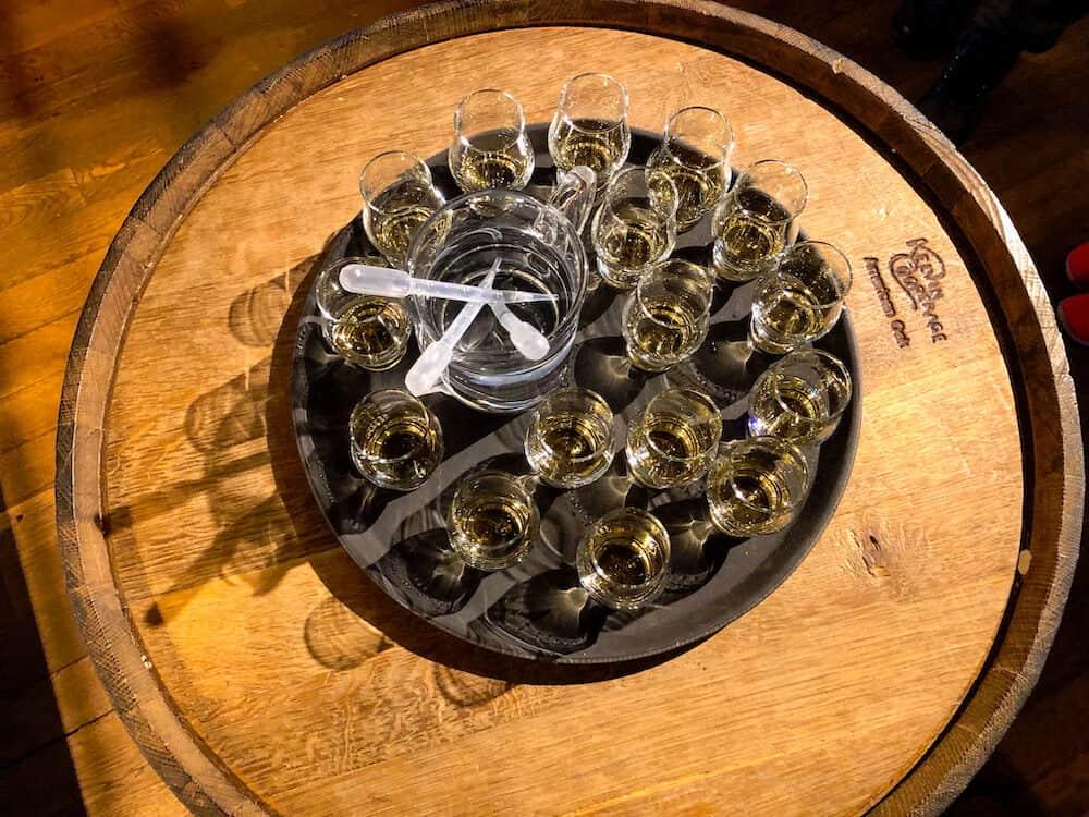 Whisky tasting at Talisker Distillery