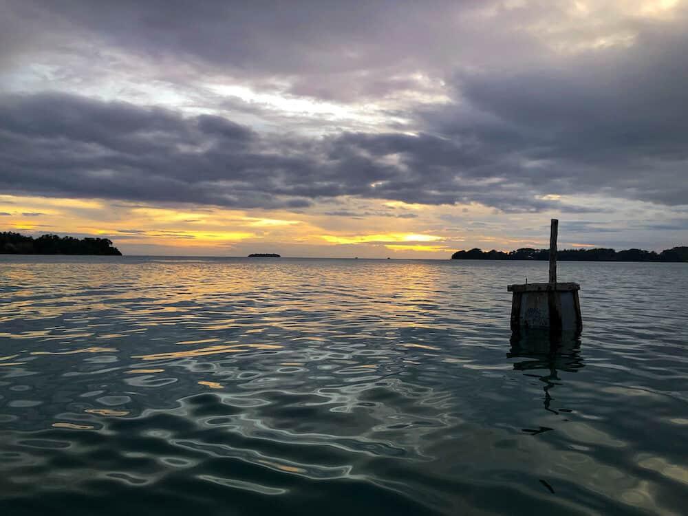 sunset cruise Boat cruise from Munda in the Solomon Islands