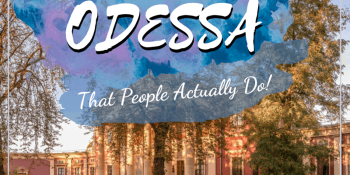 20 Things to do in Odessa - That People Actually Do!