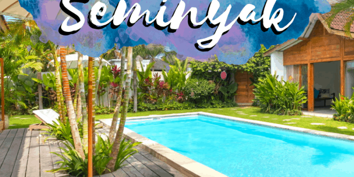Best pool villas in Seminyak