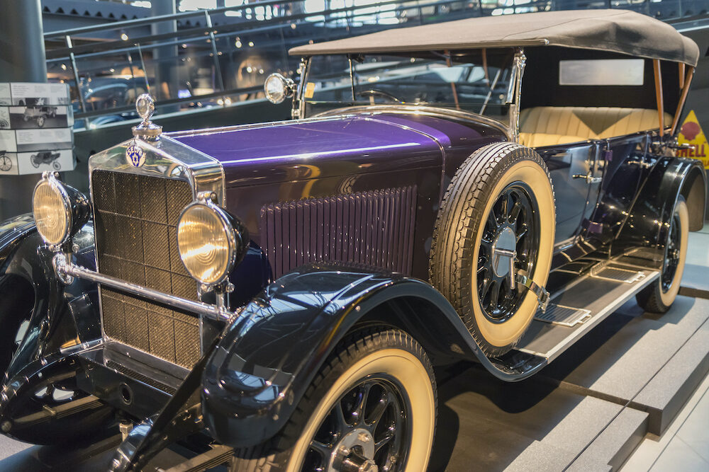 RIGA, LATVIA- 1928 Selve 12-50 in the Riga Motor Museum