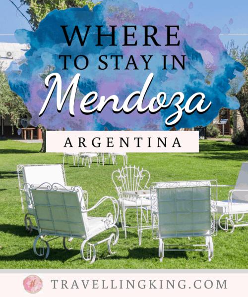 Where to stay in Mendoza