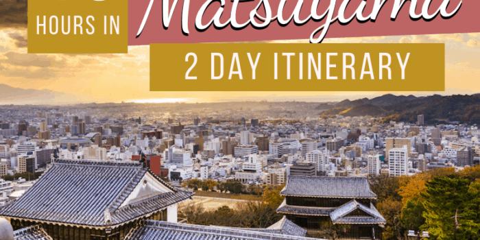48 hours in Matsuyama - 2 Day Itinerary