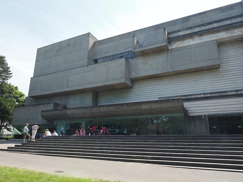 BELFAST, UK -: The Ulster Museum