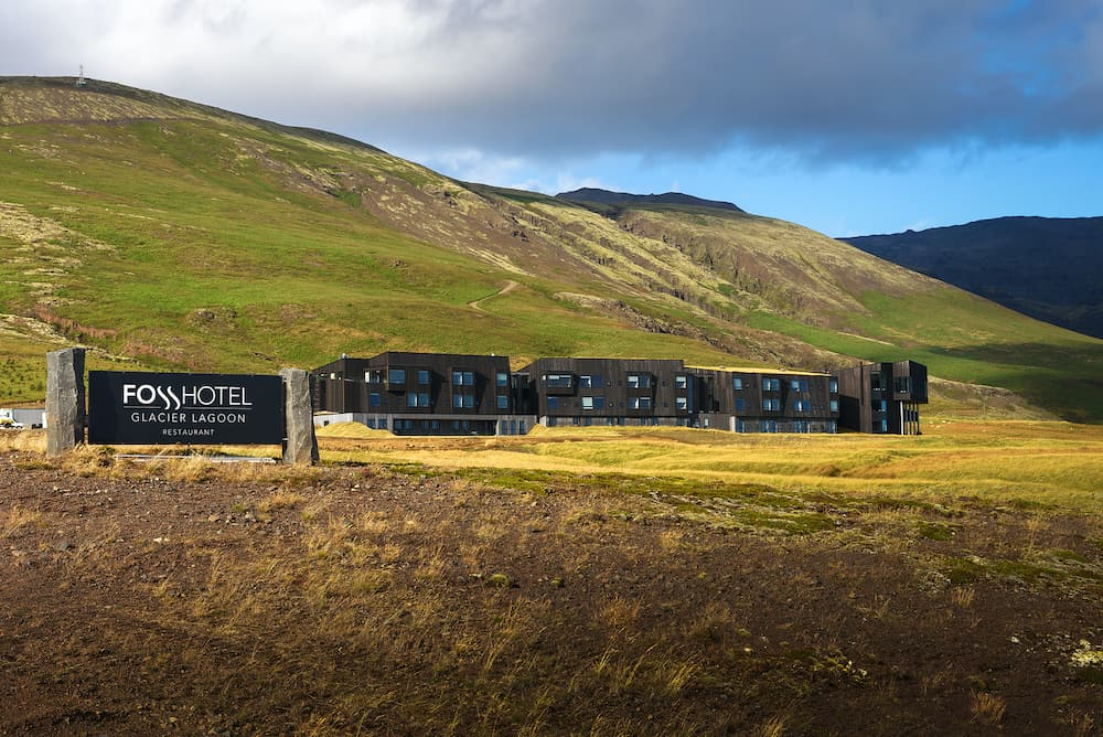 Hnappavellir, Iceland - Fosshotel Glacier Lagoon with a restaurant is a four-star hotel in Hnappavellir, located on the ring road and surrounded by beautiful Icelandic nature.