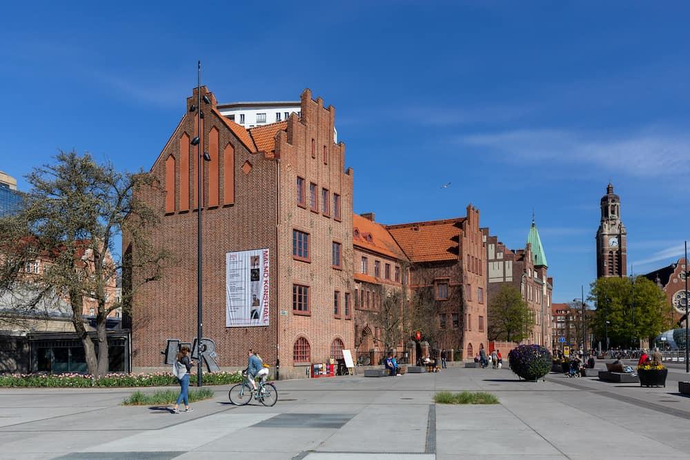 Malmo, Sweden - Exterior view of Malmo Art Gallery